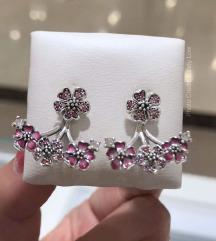 Pandora Peach Bloosoms mindjuse srebro s925