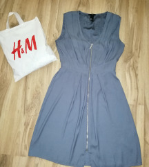 H&M haljina sa zipom