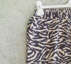 Krem letnje pantalone, vero moda