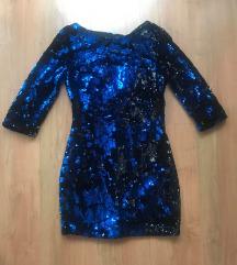 ZARA šljokicava haljina