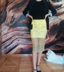 Zara suknja srednje duzine