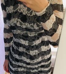Elegantna čipkana haljina