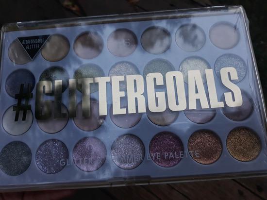 senke glitter goals
