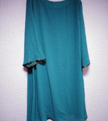 Plavo-zelena haljina