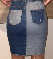 Missguided teksas suknja