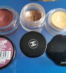 Krem senke, Shiseido, Chanel, Maybelline