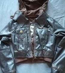 Braon bajkerka jakna XS