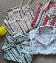4 košulje za 799