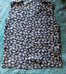 Tamnije letnja leprsava majica na listice