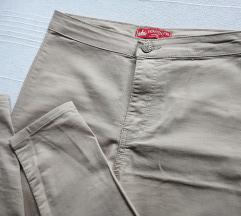 Bež skinny high waist pantalone/KAO NOVE