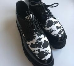 Oxford cipele sa kravljim printom