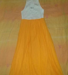 Zara nova  duga haljina sa etiketom
