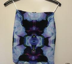 Suknja sa printom orhideja
