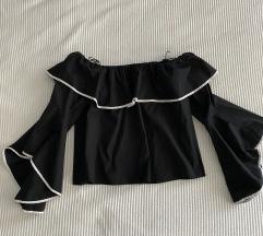 Zara majica s otvorenim ramenima