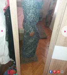 Duga haljina otvorenih ledja