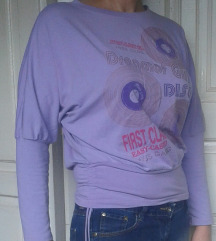 Majica boje jorgovana