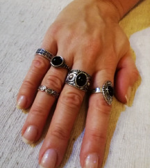 Prstenje 5 kom