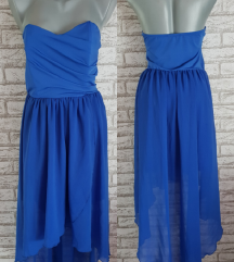 NOVA Plava top haljina M/L