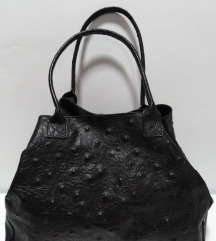 Vera Pelle Italy velika torba 100%koža 38x31x20