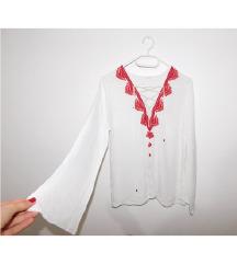 NOVA bela kosulja bluza M/L