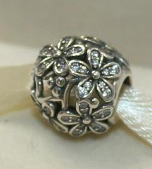 Pandora Dazzling Flower srebro s925