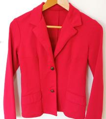 Crveni sako M veličina