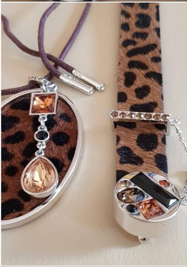 Swarovski set ogrlica i narukvica, original
