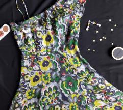 Armani Exchange svilena haljina