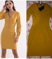 Legend senf žuta haljina, sa etiketom