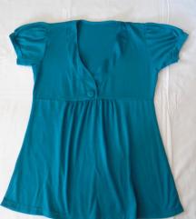 Tirkiz plava majica