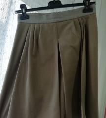 Benetton jesenja suknja S-M