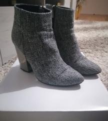 Sive cizme 37