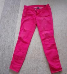 Benetton roze pantalone