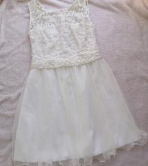 Svecana bela haljinica