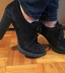 Kozne crne cipele
