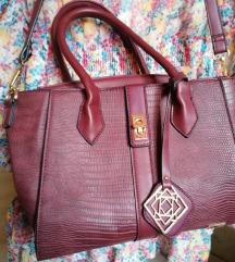 P. S. fashion bordo crvena torba tasna