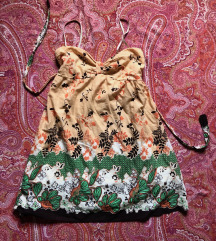 Mini haljina sa dezenom S-M-L