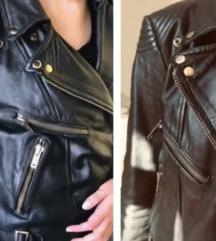 Bajkerska kozna jakna M/L