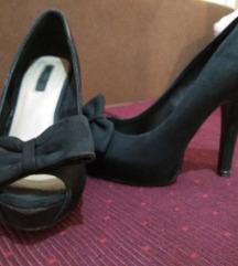 Zara crne cipele 37