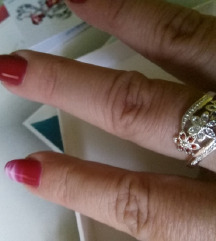 Prsten zig 925