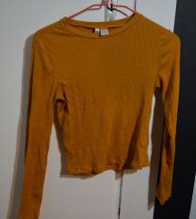 H&M žuta majica