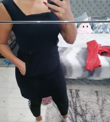 Crna haljinica L