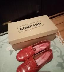 KOMPAKO crvene kozne cipele 38, nove