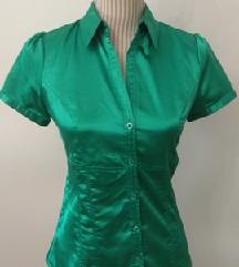 Jarko zelena košulja