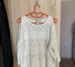 Tanak džemper sa prorezima❤️