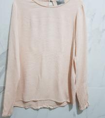 Nezno roze bluza