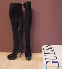 Kožne ženske čizme - Guess.