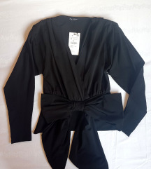 ZARA crna bluza NOVO sa etiketom