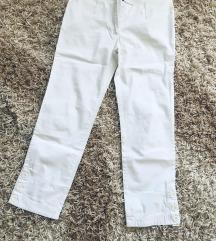 Mango bele pantalone 7/8 !Bukvalno Nove