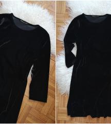 PRO PIU'GRANDE elegantna haljina od pliša NOVO